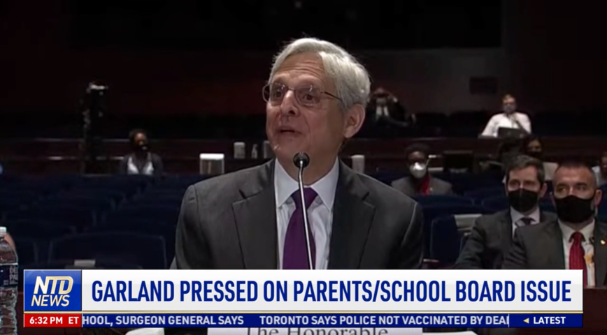 Garland Pressed on Parents, School Board Issue