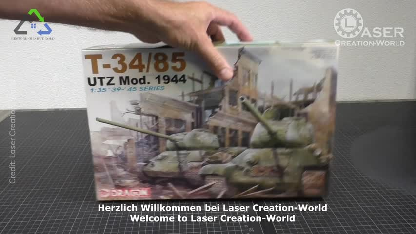 T-34/85 Berlin 1945 Version Scale 1:35 from Dragon