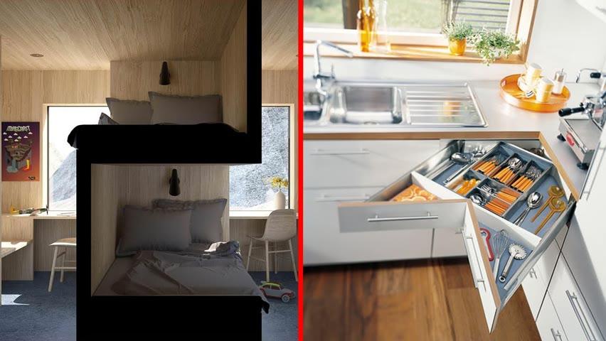 Innovative Furniture Creations | Space saving ideas