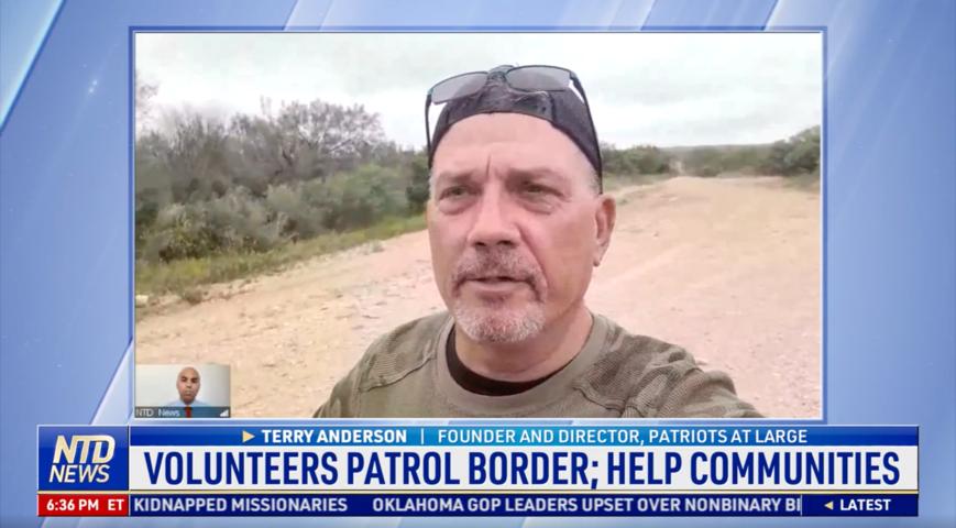 Volunteers Patrol Border, Help Communities