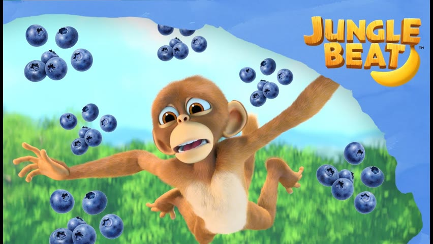 HEALTHY EATING 🍓🍉🍌| Jungle Beat NEW Episode! | VIDEOS and CARTOONS FOR KIDS 2021
