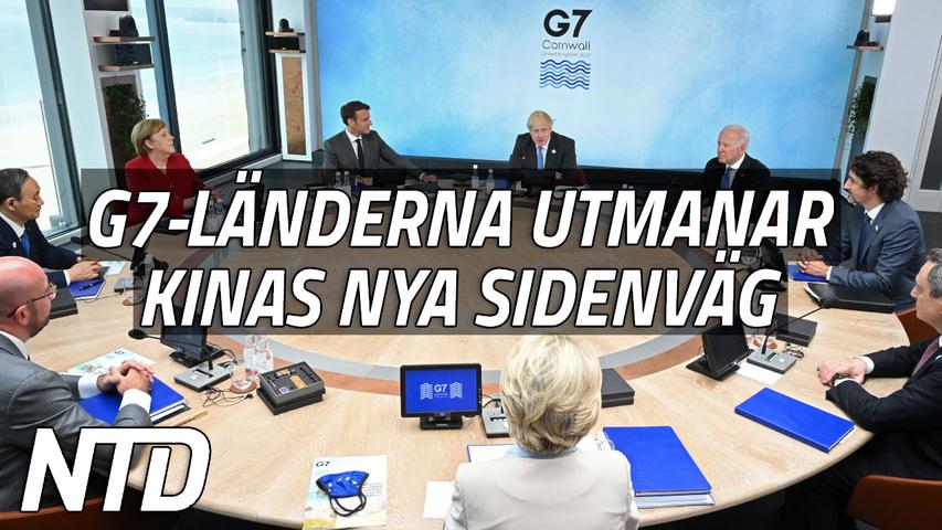 G7-länderna ska erbjuda ett alternativ till Kinas Nya Sidenväg | NTD NYHETER