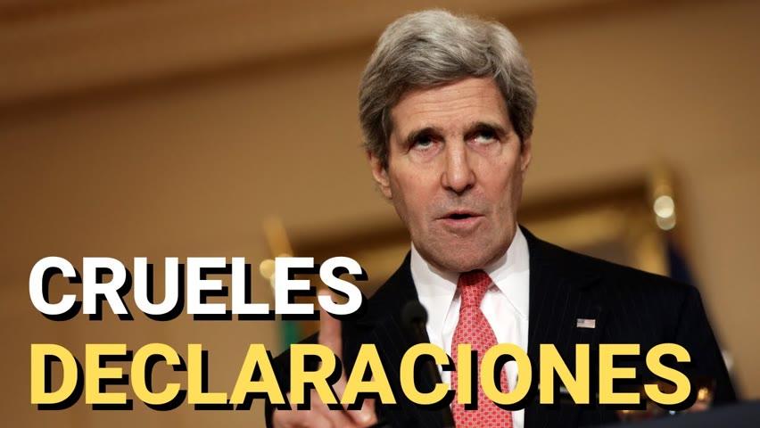 A John Kerry no le interesan los derechos humanos, sino alcanzar sus objetivos.