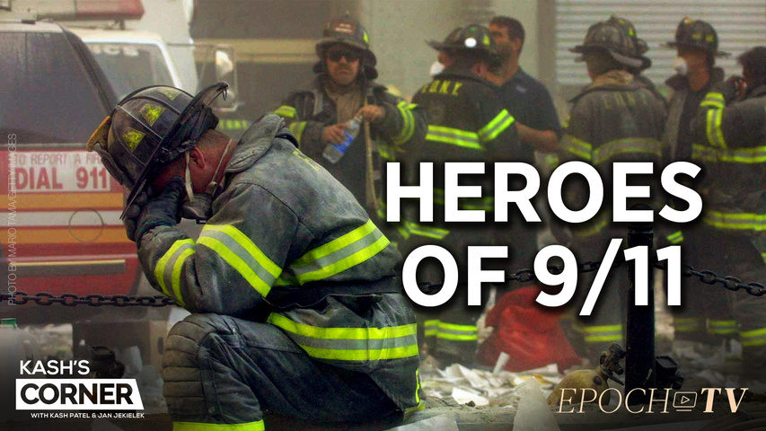 Kash's Corner: A Tribute to the Heroes and the Victims of 9/11 | CLIP