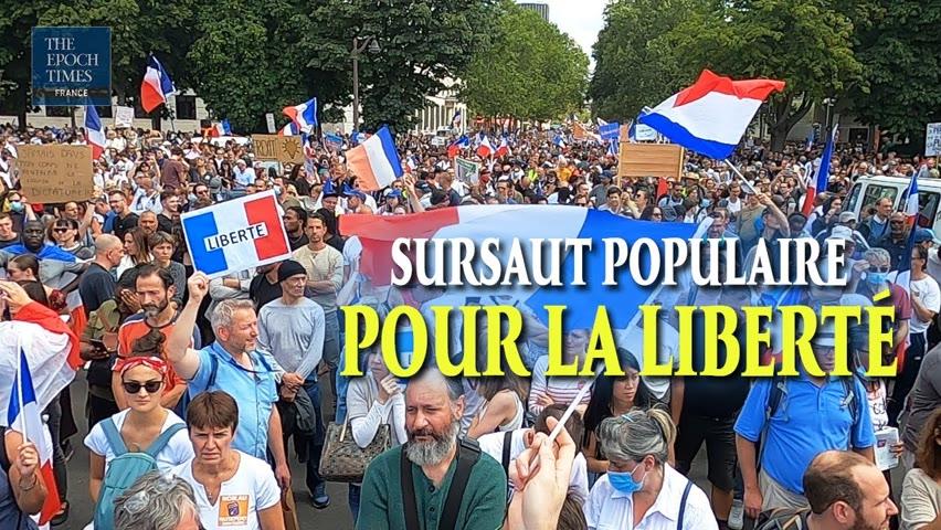 Manifestation massive contre le pass sanitaire le 31 juillet, à Paris