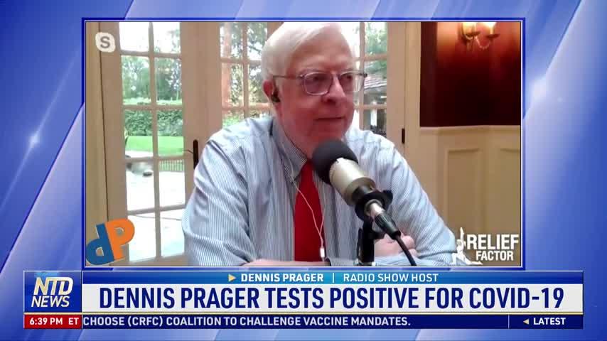 Dennis Prager Tests Positive for COVID-19