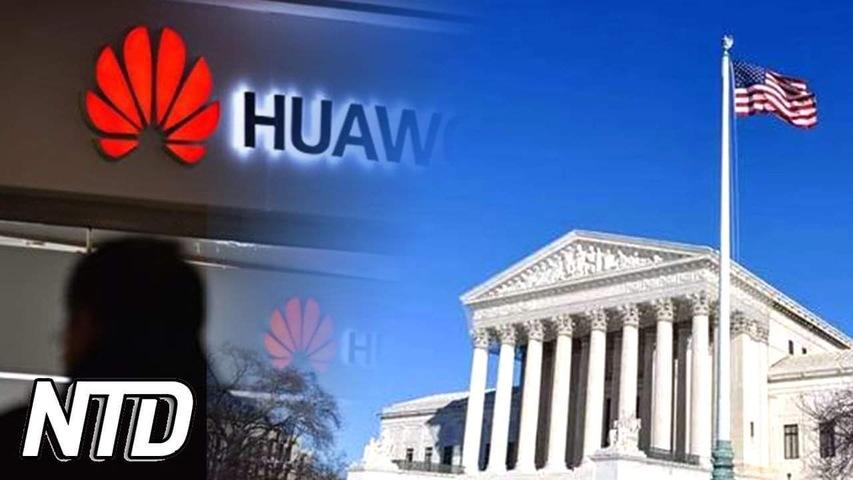 Amerikanskt bolag stämmer Huawei | NTD NYHETER