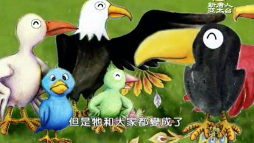 漢字動畫《悠遊字在》:說鳥