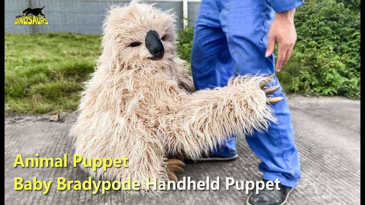 Baby Bradypod Sloth Handheld Puppet