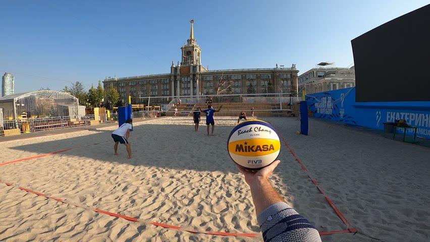 Волейбол от первого лица | VOLLEYBALL FIRST PERSON | Россия-Екатеринбург | Чемпионат мира FIVB 2022