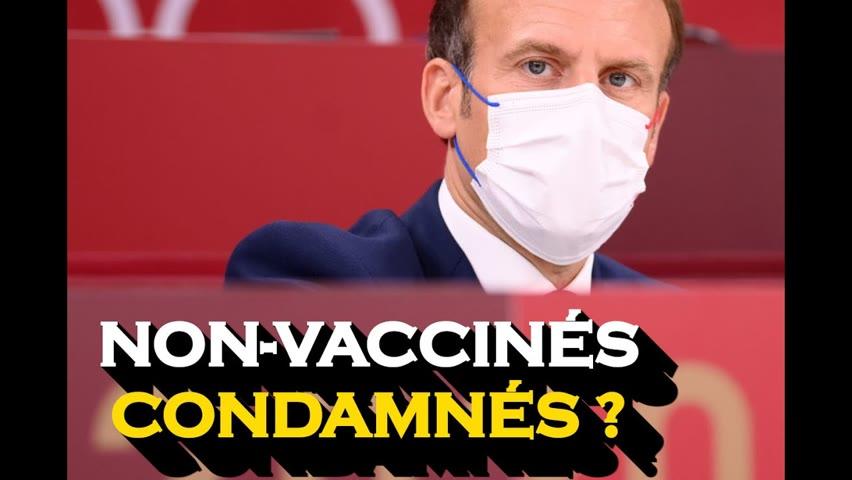 En France, les non-vaccinés risquent une peine de prison ; le HHS est poursuivi