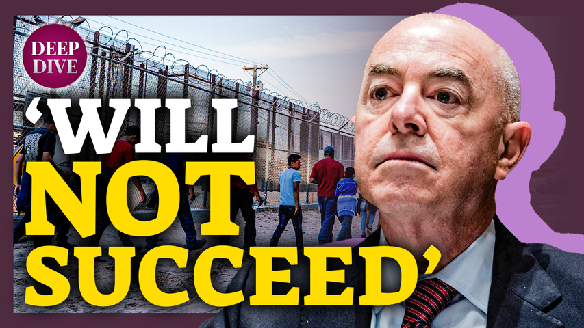 Homeland Security Secretary Warns Illegal Immigrants: 'Not the Way'; Capitol Fence Comes Back Down