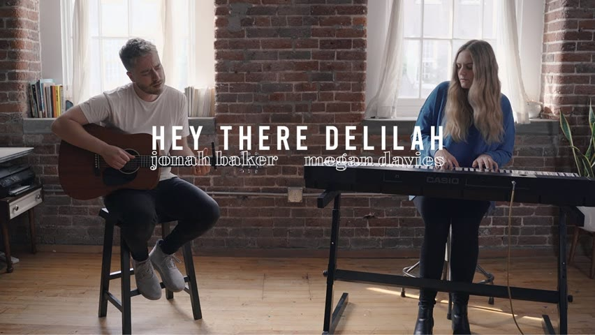 Hey There Delilah by Plain White T's   Acoustic Cover by Jonah Baker and Megan Davies