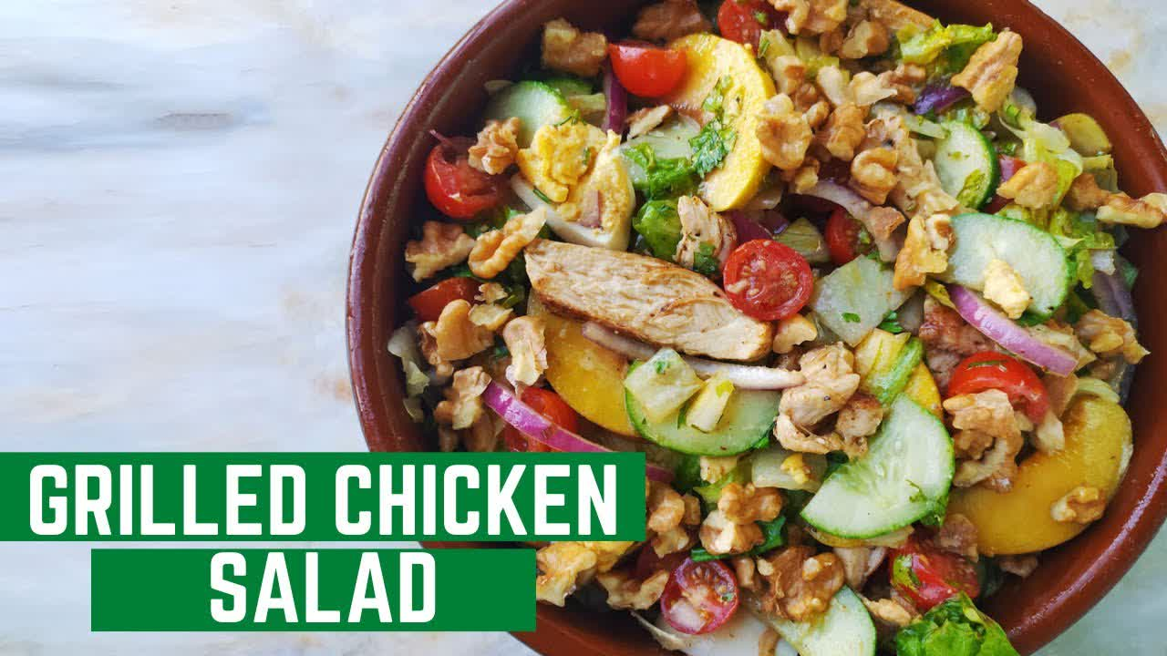 Grilled Chicken Salad   Mamagician