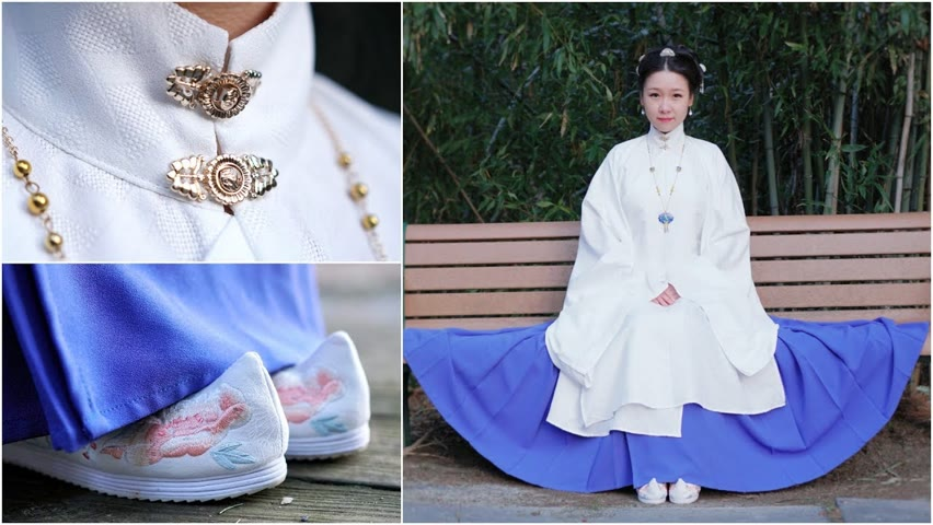 How to Wear Hanfu | Ma Mian Skirt (馬面裙) from the Ming Dynasty