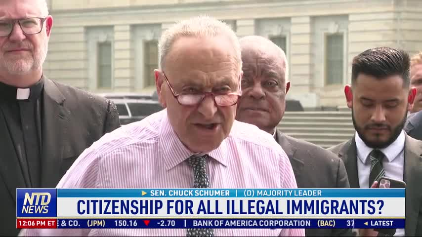 Democrats Want Citizenship for All Illegal Immigrants