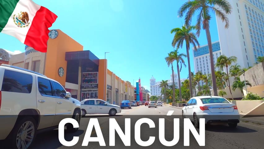 Cancún, Mexico Video Tour 2021 🇲🇽Hotel and Party Zone