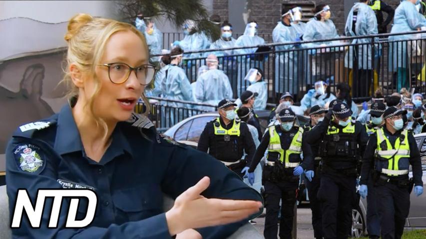 Australisk polisinspektör lämnar polisen, väljer att tala ut | NTD NYHETER