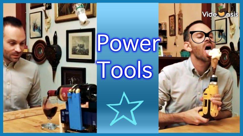 Power Tool Dinner Party VideOasis