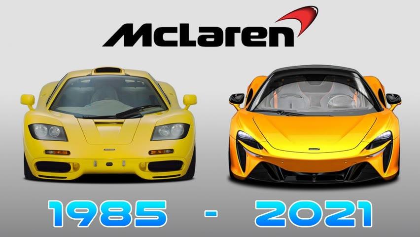 MCLAREN AUTOMOTIVE - EVOLUTION (1985-NOW) 2021-09-18 09:05