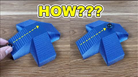 3D printed illusion: Breaks the laws of physics! 🤯