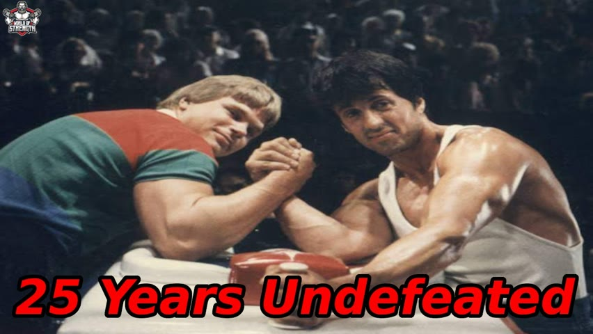 The Man who was Undefeated for 25 Years - John Brzenk