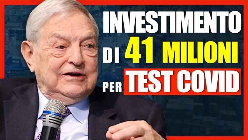 Soros e Bill Gates acquistano azienda che produce test per il Covid-19 | Facts Matter Italia 2021-07-25 15:08