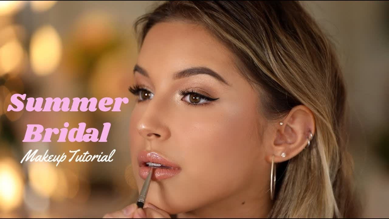 Summer Bridal Makeup Tutorial | Jenny Do