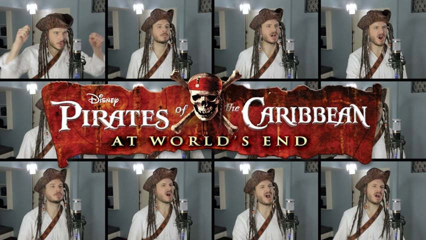 Hoist The Colours (ACAPELLA) - Pirates of the Caribbean