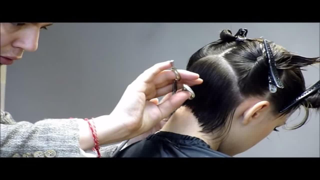 Прическа каре. Лучшее каре в мире. Парикмахер Артем Любимов. Боб каре.  волосы