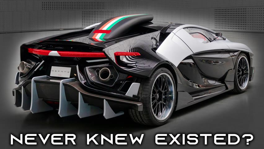 SUPERCARS & HYPERCARS - YOU DIDN'T KNOW EXISTED? [P3]