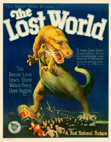 The Lost World 1925 Full Movie - Colourized with Deoldify - Interpolated with Flowframes