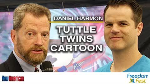 Tuttle Twins Cartoon Premieres at FreedomFest 2021