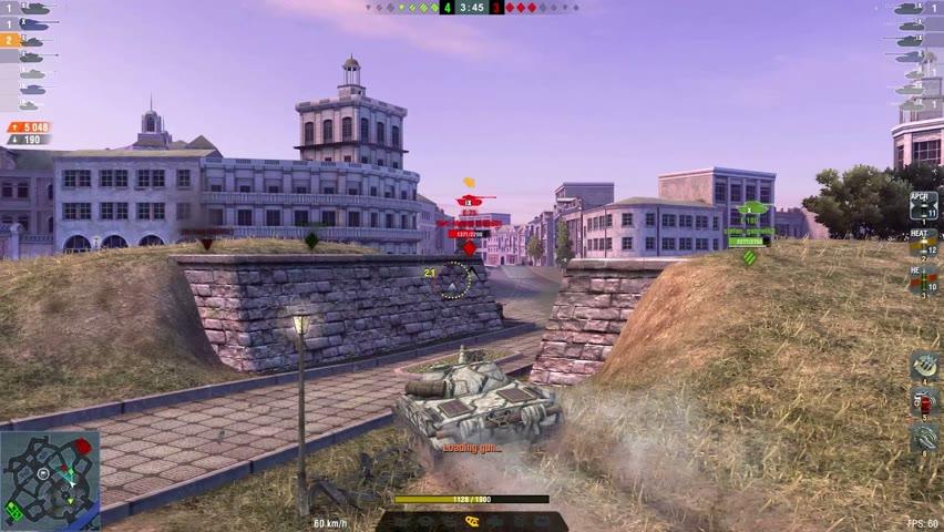 Obj.907 9171DMG 5Kills   World of Tanks Blitz  