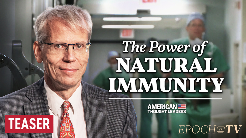 Dr. Martin Kulldorff: Hospitals Should Hire Nurses with Natural Immunity—Not Fire Them   TEASER