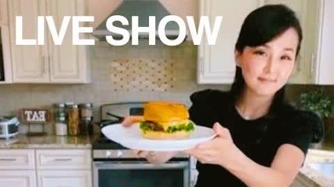 "Live Cooking Show 現場直播節目:Smash Burger 砸碎漢堡做法 ""CiCi Li - Asian Home Cooking"""