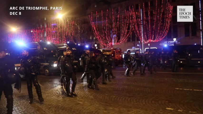 Update from French Interior Minister Christophe Castaner