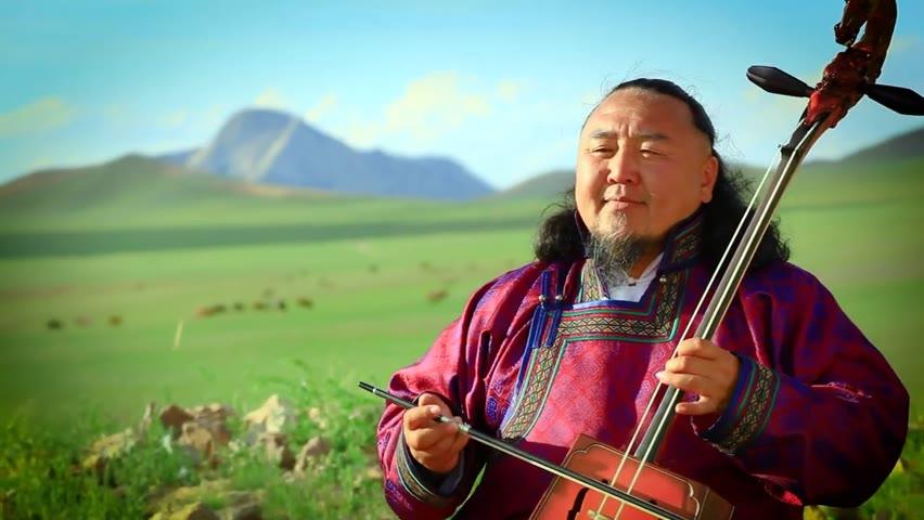 Mongolian folk song Alsiin gazariin zereglee , singer Tsogtsaikhan Sosorburam