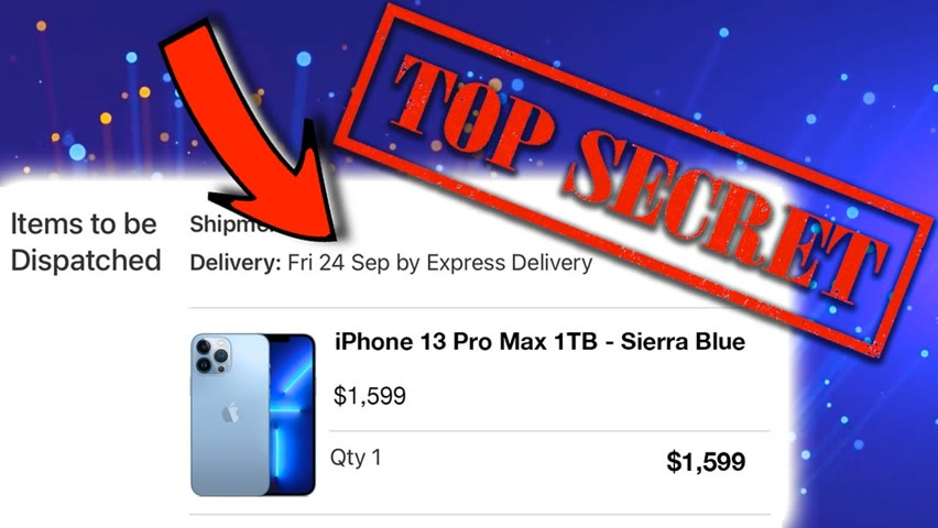 Apples SECRET WAY to get an iPhone 13, MacBooks etc.. ON RELEASE DAY!