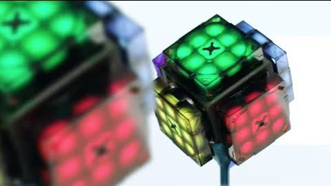 Introducing the eX Mars Cube - First ever intelligent Robot Rubiks Cube