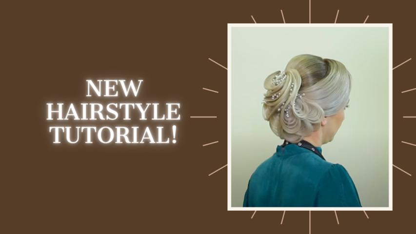 New hairstyle tutorial! Farrukh Shamuratov