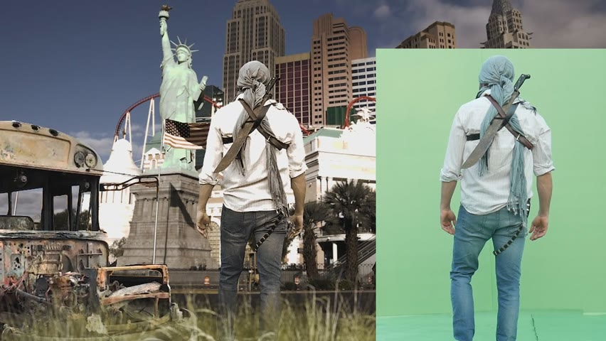 Army of the dead Green screen tutorial