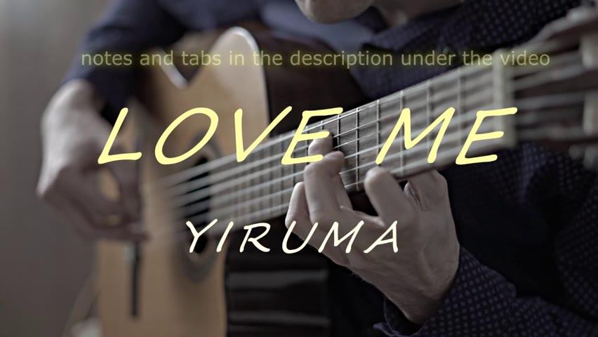 Love Me ( Yiruma ) | Guitar Cover version