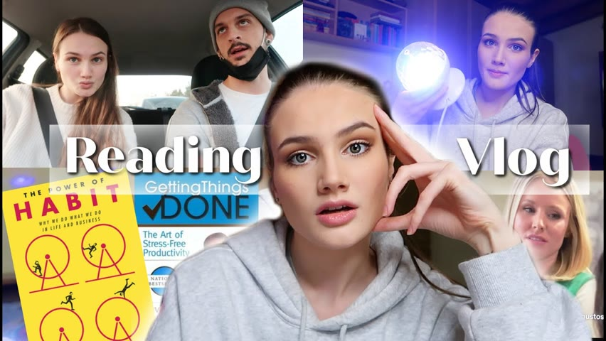 READING VLOG: Getting Things Done & The Power of Habit