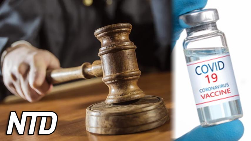 Domare upphäver krav på vaccin för mamma | NTD NYHETER