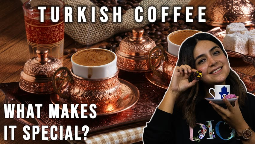 TURKISH COFFEE is a Culture | How to Make it? Fortune Telling + Gourmeturca.com unboxing