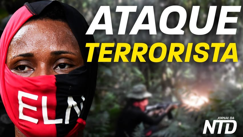 Atentado: 5 mortos, 6 feridos na Colômbia; Morre genocida comunista no Peru