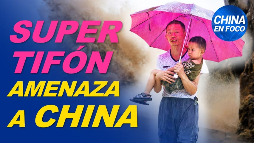 Super tifón activa alertas máximas en China. Multitud protesta en Beijing