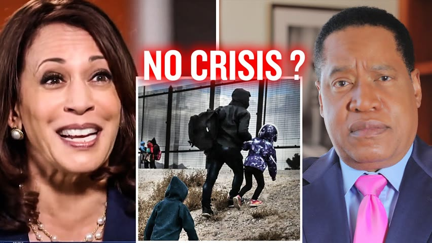 What The Media Don't Tell You About Biden's Illegal Immigration Crisis   Larry Elder