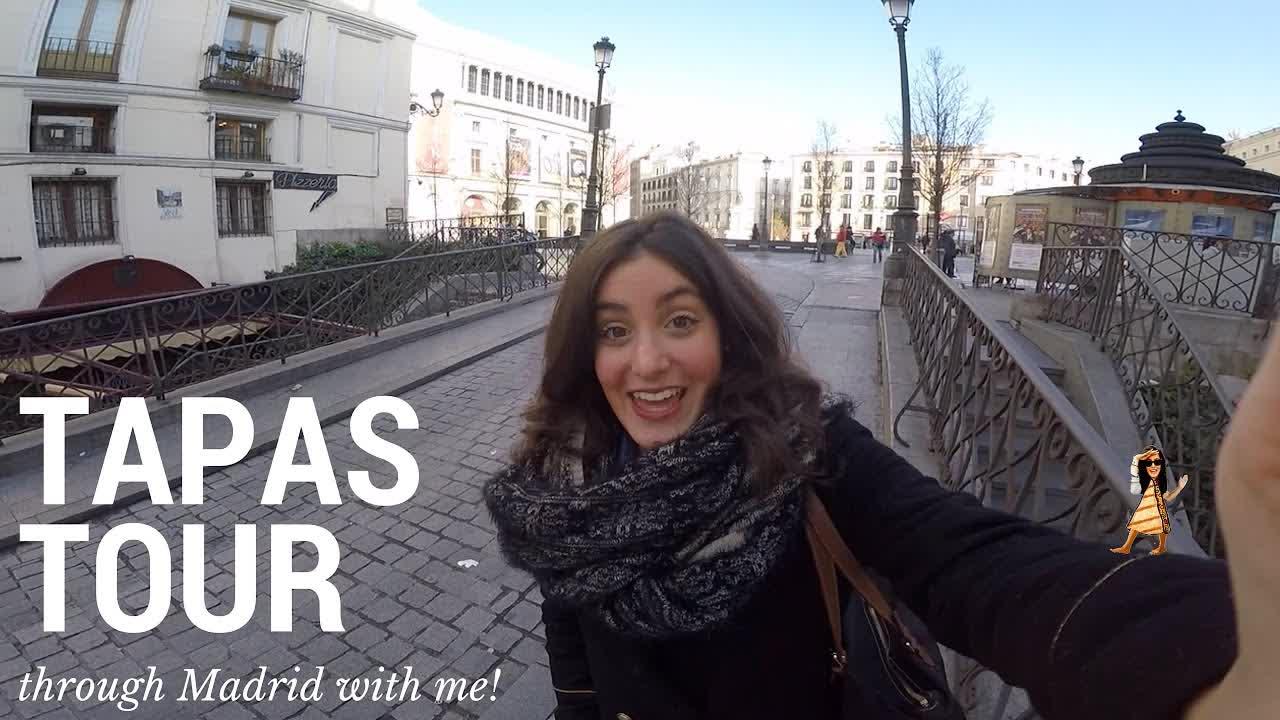Madrid Tapas Tour with AWC